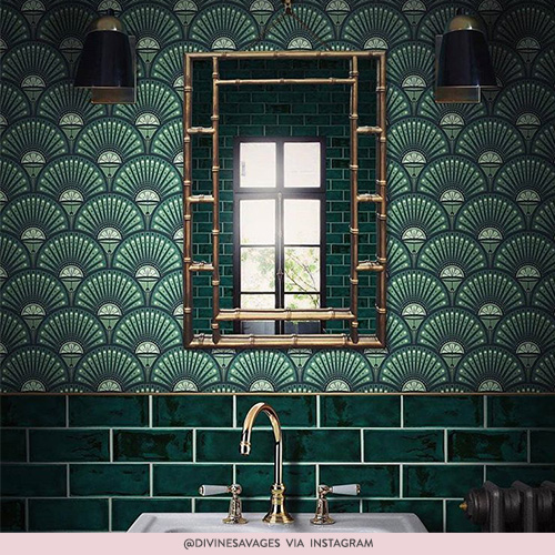 Adding Patterned Tiles To Your Bathroom Drench