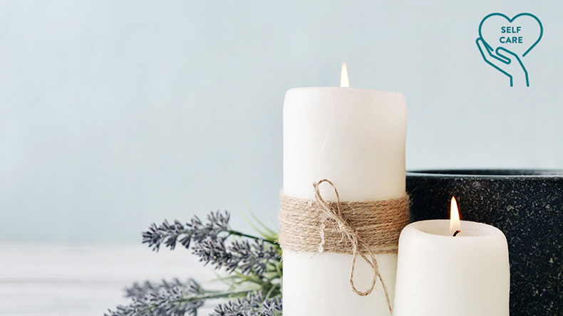 Self-Care Sanctuary: Handmade Scented Candles