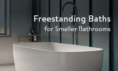 freestanding baths for smaller bathrooms