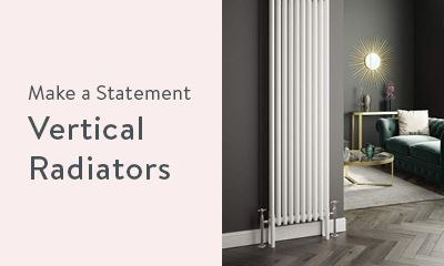 Make a statement with vertical radiators