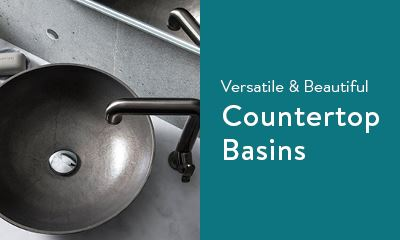 Versatile and beautiful countertop basins